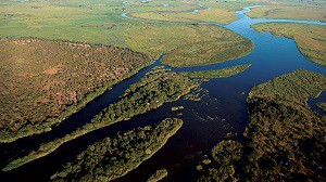 The meeting place of two major African Rivers
