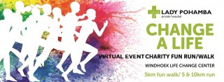 Virtual Event LPPH CHANGE A LIFE CHARITY FUN RUN