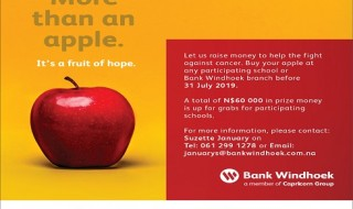 Bank Windhoek Cancer Apple Project 2019