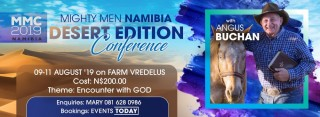 Mighty Men Conference Namibia